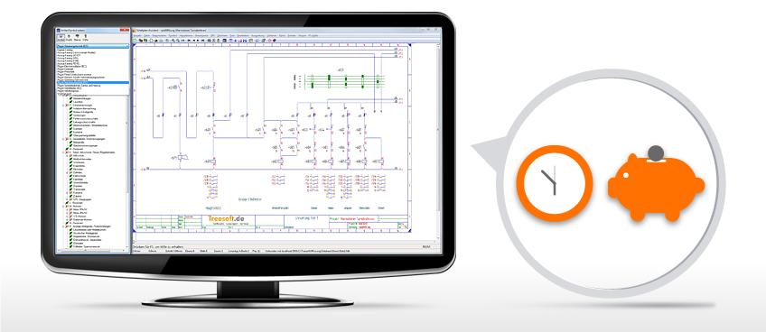 Treesoft CAD - Schaltplan erstellen