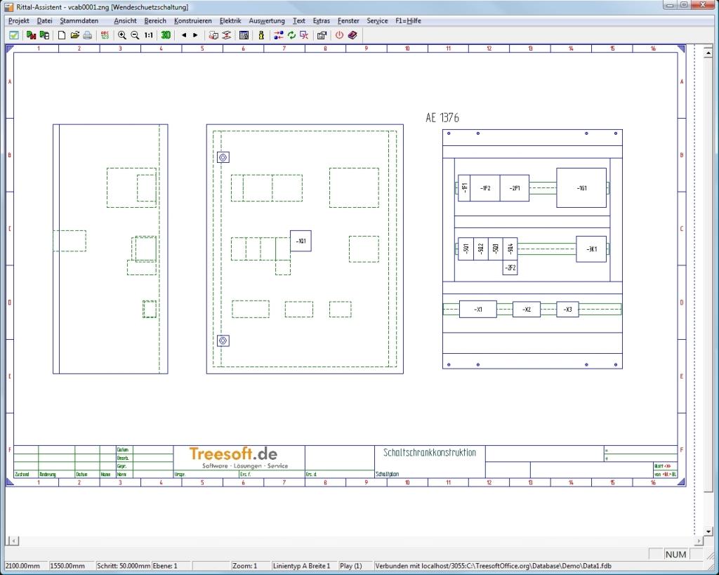 Treesoft CAD Steuerungstechnik